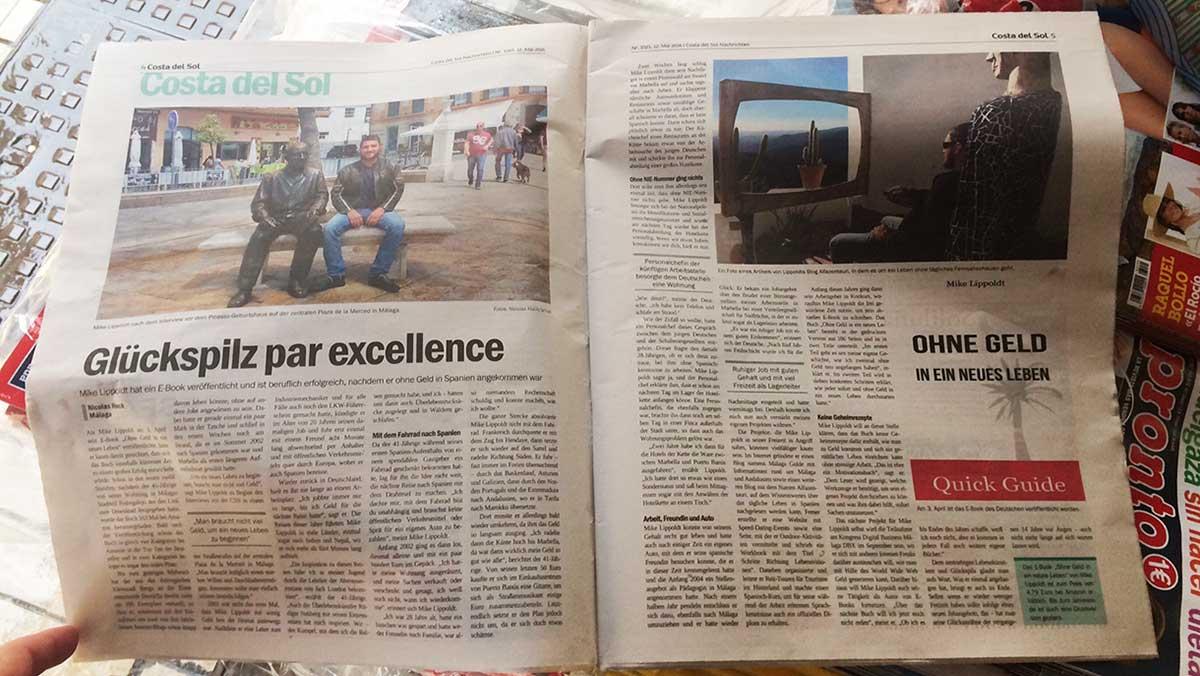 Mike Lippoldt Interview Costa del Sol Nachrichten